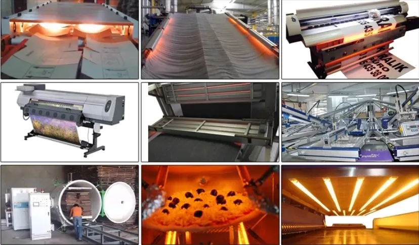 China Infrared Heat Lamp Supplier