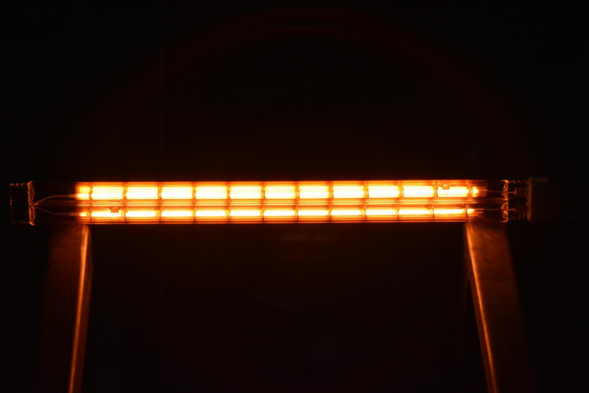 TWIN TUBE INFRARED HEAT LAMP